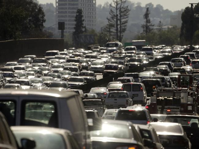 Australians are falling victim to killer commutes. Picture: Jae C Hong