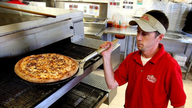 Papa John's pizzas don't taste like they used to, according to the company's founder John Schnatter. Picture: The Commercial Appeal/Uma Press