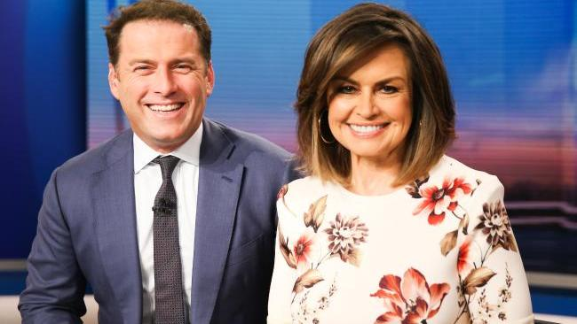 Karl Stefanovic and Lisa Wilkinson on The Today Show Photo: Renee Nowytager/News Corp Australia