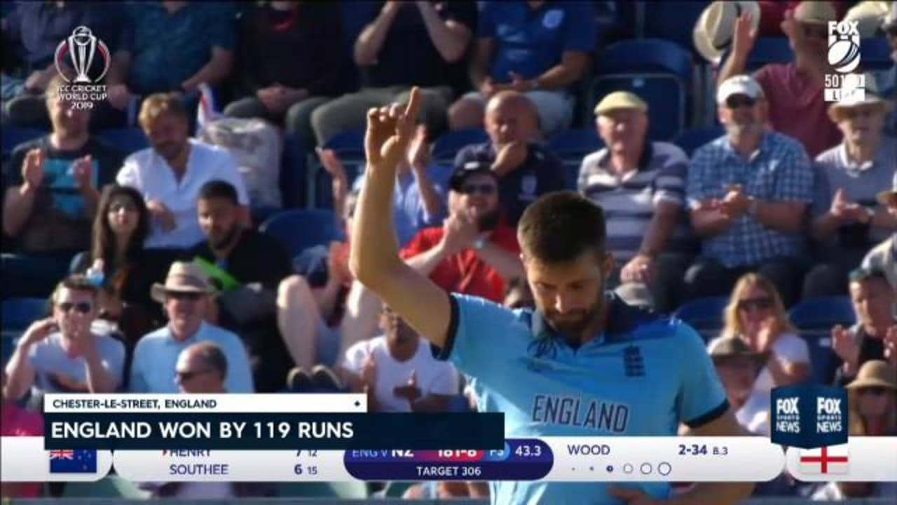 England thrash NZ by 199 runs