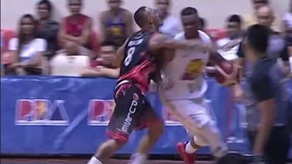 Calvin Abueva, Terrence Jones hit video: PBA Commisioner's Cup