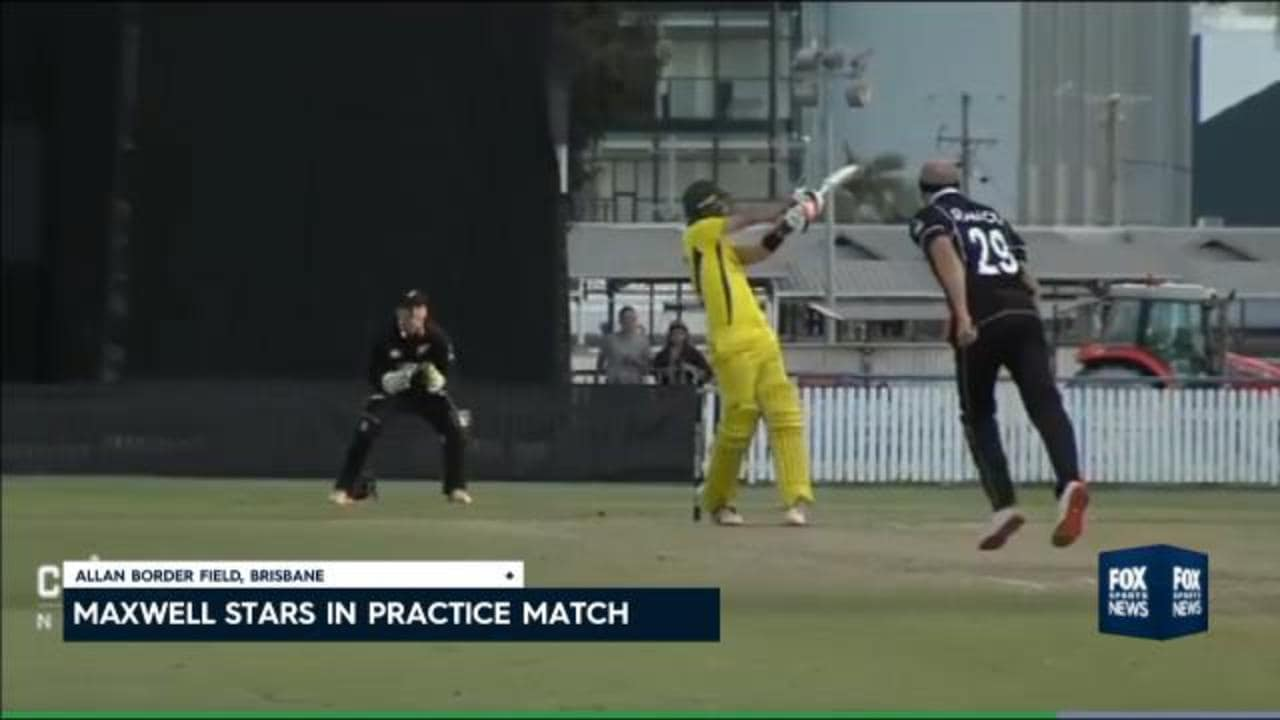 Smith, Maxwell star vs. NZ