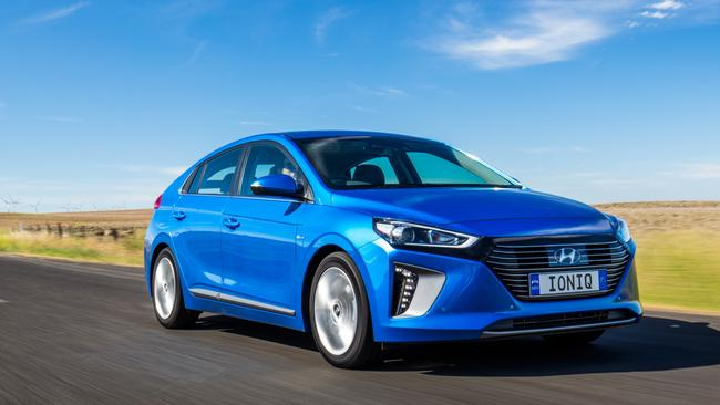 Hyundai is set to launch its Ioniq range which features hybrids and an EV.