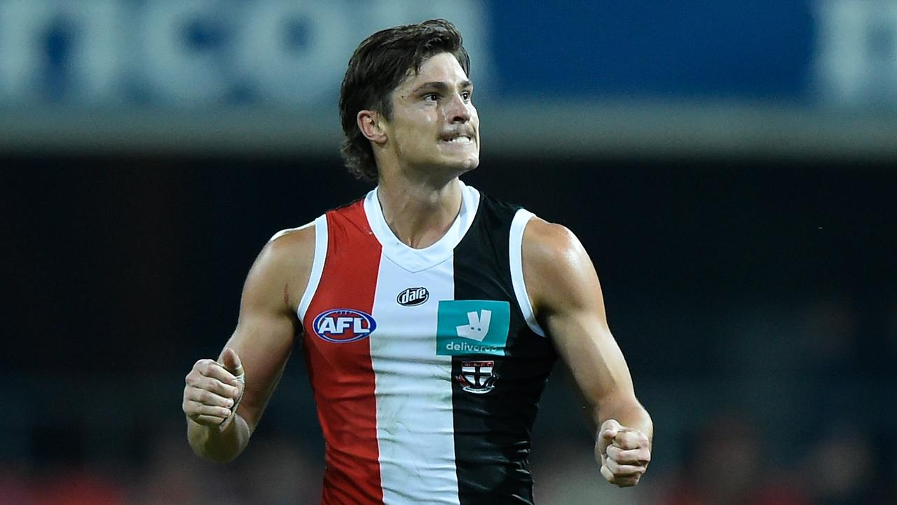 Jack Steele of the Saints looms as the most curious Brownlow case of 2020. Picture: Matt Roberts