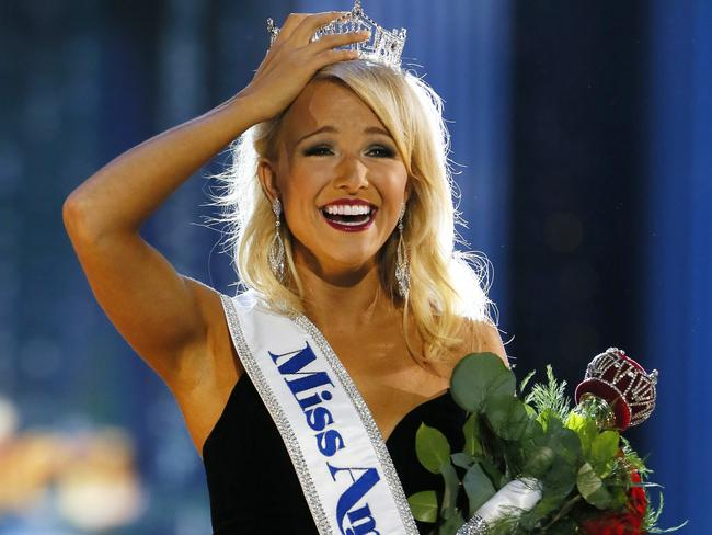 Miss Arkansa Savvy Shields was named Miss America 2017. Picture: Noah K. Murray