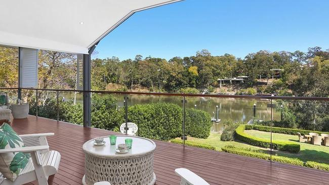 The view from the property at 11 Morley St, Chelmer.