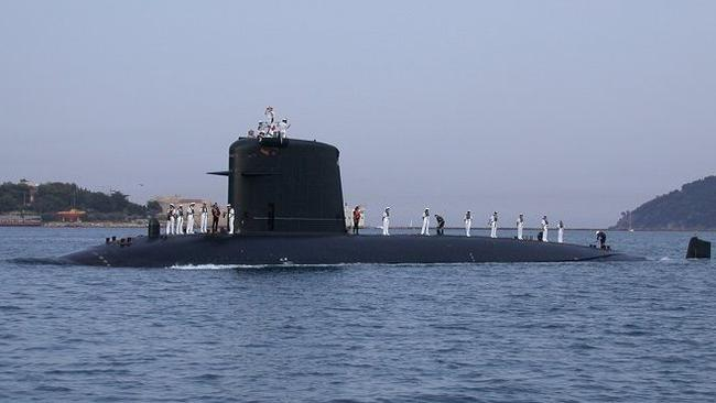french sub sinks us supercarrier