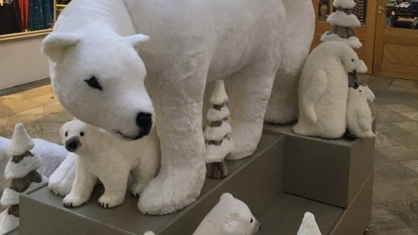 X Rated Christmas Store Display Polar Bears Placed In Sexual Position