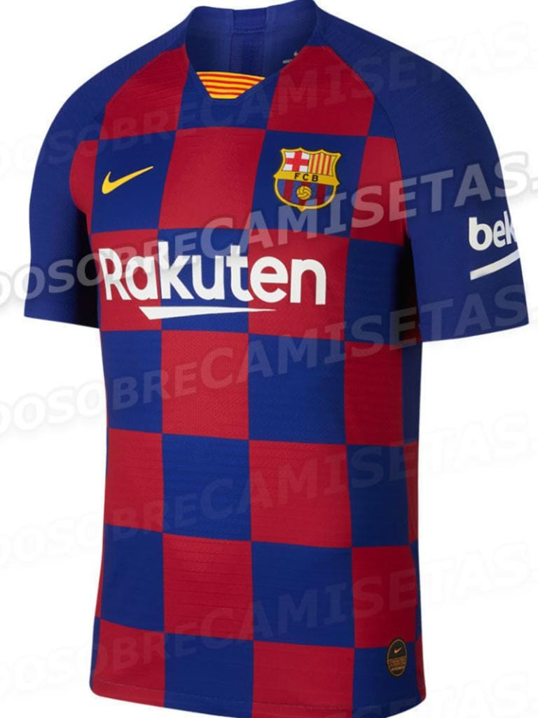 sale retailer d29db 8151f Football: New Barcelona kit leaked online, fan reaction ...