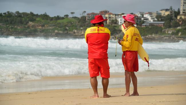 You won't be seeing any volunteer surf lifesavers for a while.
