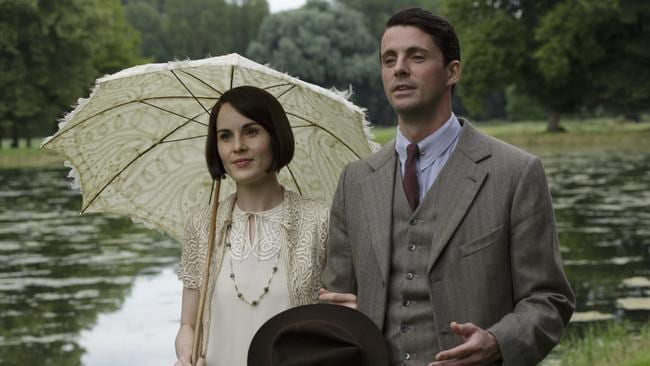 Lady Mary and husband Henry Talbot in the show's sixth season.
