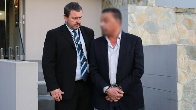 Police raided properties from Fairfield to the Illawarra region. Picture: NSW Police