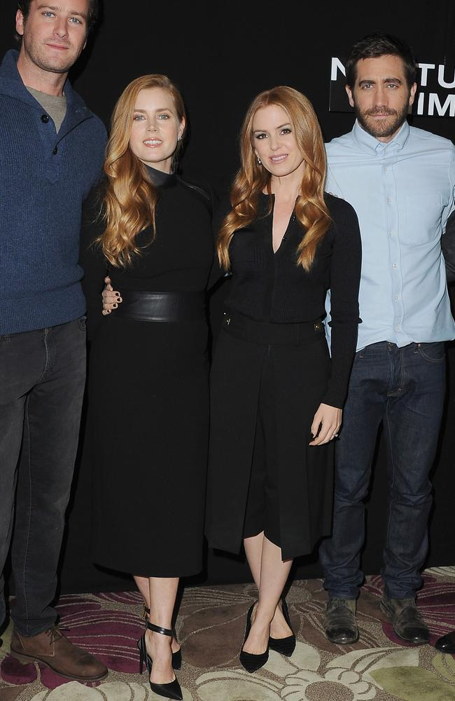 Amy Adams is also often mistaken for Isla Fisher. Picture: Jon Kopaloff