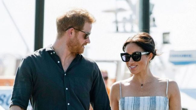 Harry has leapt to his wife's defence. Image: Getty