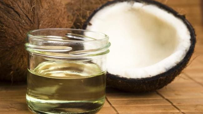 Coconut oil is good for cooking at high temperatures, but it's controversial due to being 90per cent saturated fat.