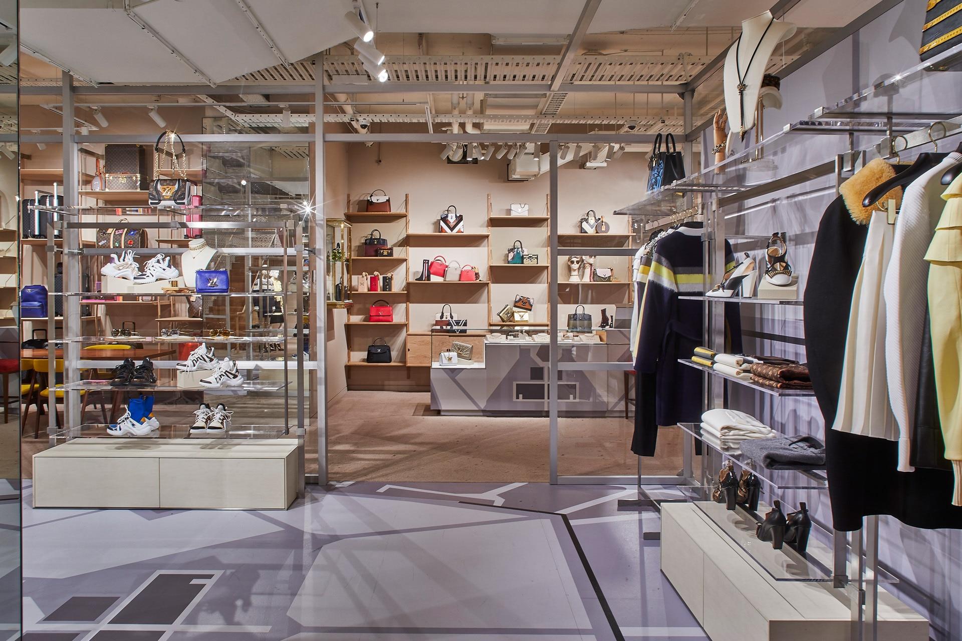 Louis Vuitton Unveils New Concept Store In Sydney Gq