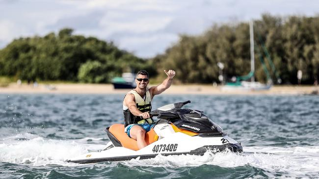 Ireland's Rob Kearney enjoying the Gold Coast. Photo: INPHO/Dan Sheridan
