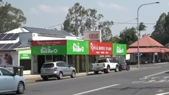 The main street of Tiaro. Picture: 10 News First