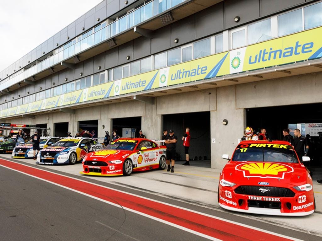 The pit lane will be a hive of activity in 2020. Pic: Supercars