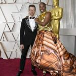 Brad Goreski and Billy Porter attend the 92nd Annual Academy Awards at Hollywood and Highland on February 09, 2020 in Hollywood, California. (Photo by Kevork Djansezian/Getty Images)