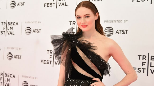 Karen Gillan at the Tribeca Film Festival. Photo: Getty