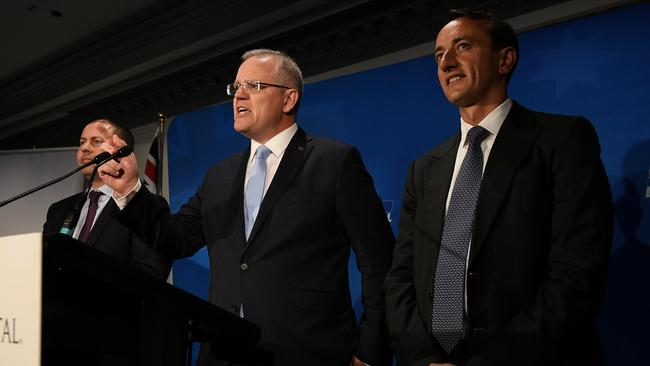 After the narrow loss last year, Dave Sharma is running in Wentworth again for the Liberal Party. Picture: AAP