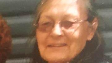 Bushfire victim Vivian Chaplain.