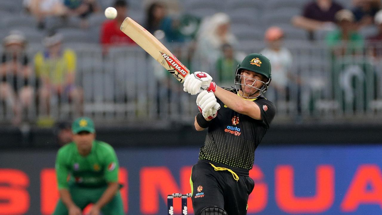 David Warner first played for Australia in T20 cricket.