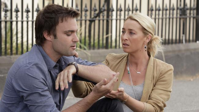 The death of Matt Le Nevez's Patrick in season four left fans reeling. Picture: Channel 10