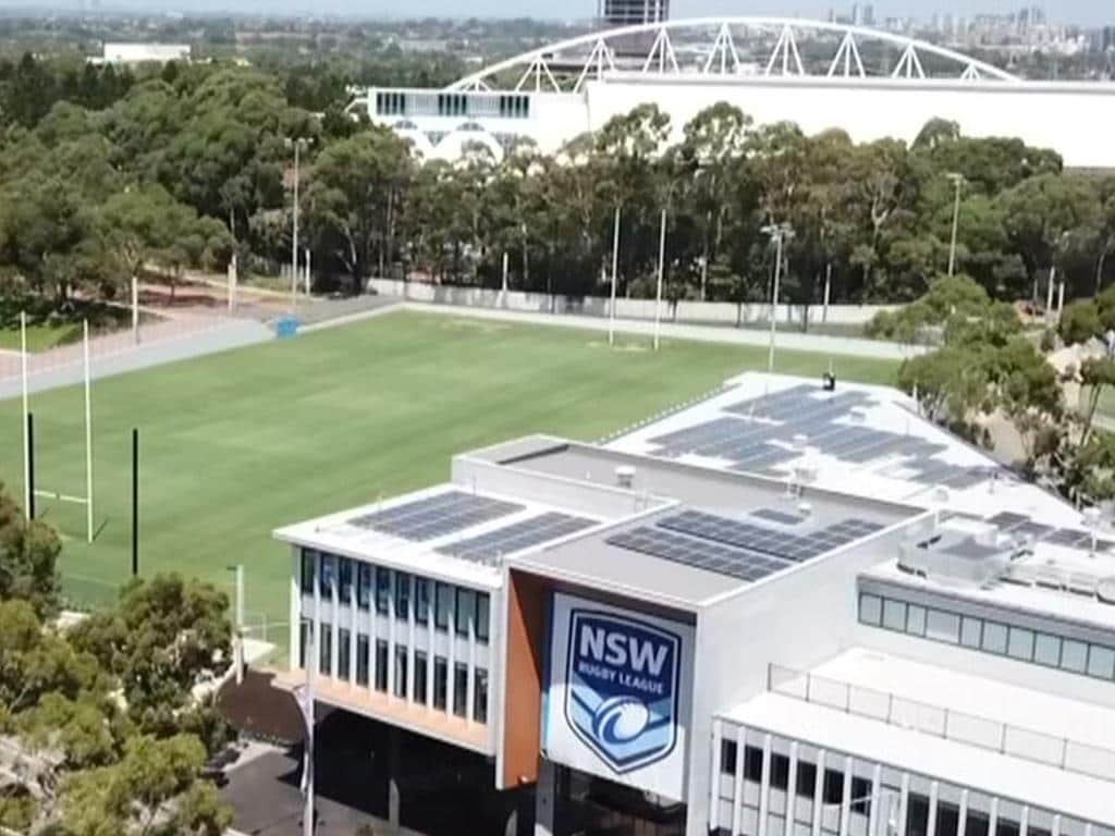 NSWRL Centre of Excellence at Homebush.