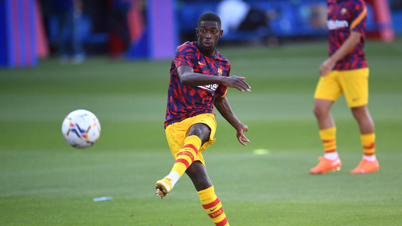 Manchester United have opened talks with Barcelona over Ousmane Dembele.