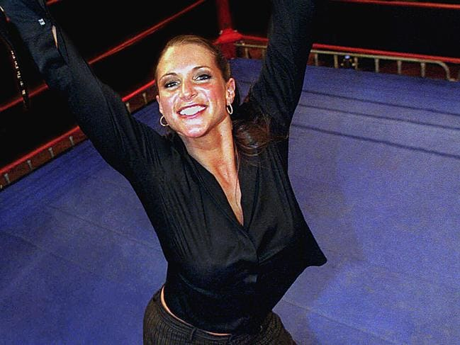 Stephanie McMahon has big plans.