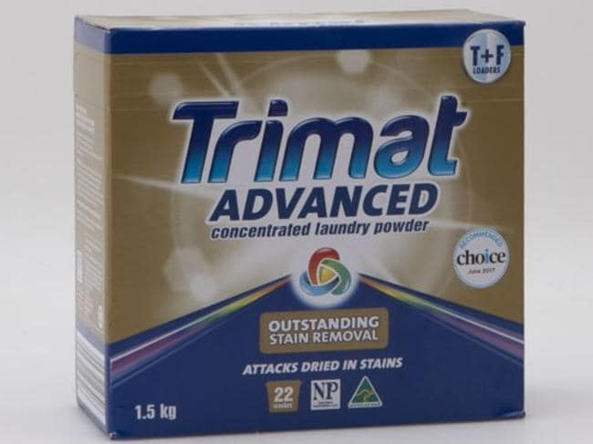 The Trimat Advanced laundry detergent was the fourth best product tested.