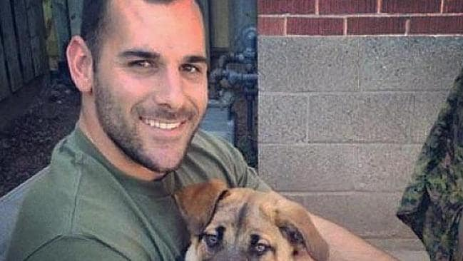 Victim ... Reserve Corporal Nathan Cirillo from his Instagram account.