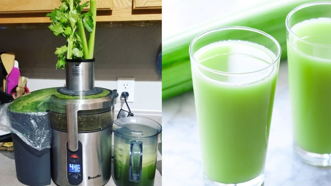 Celery juice: Dietitian are rolling their eyes at this new health trend