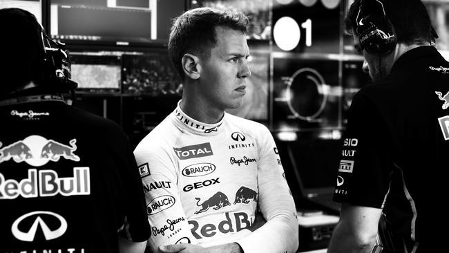 Sebastian Vettel of Germany and Infiniti Red Bull Racing has struggled in 2014.