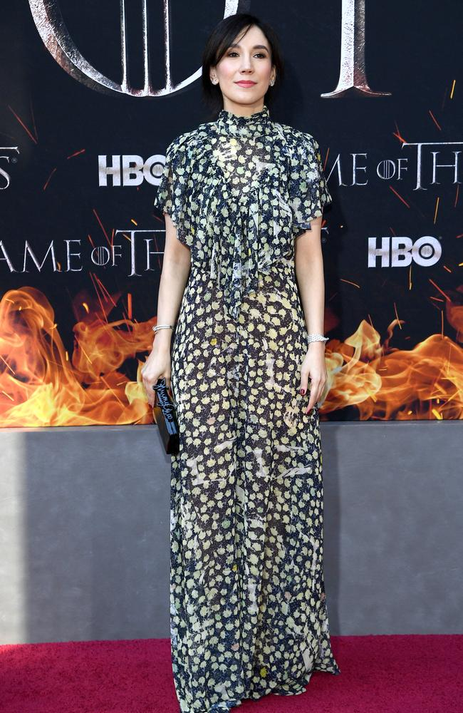Sibel Kekilli's character may have double crossed Tyrion but she was welcome to attend the reunion. Picture: Dimitrios Kambouris/Getty Images