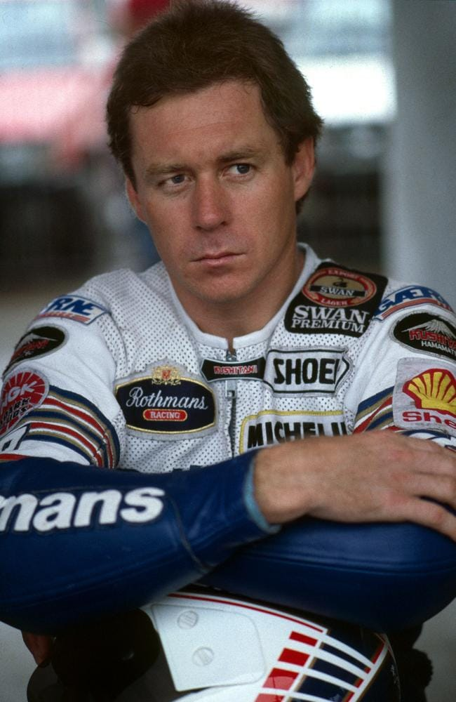 The Wollongong Whiz Wayne Gardner.