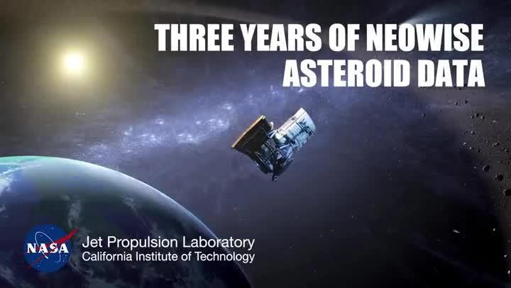 NASA Asteroids and Comets: Three Years of NEOWISE Data