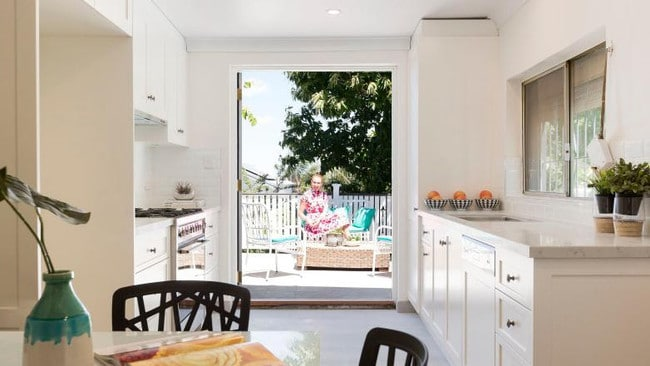 The Leichhardt renovation made a significant improvement to the kitchen.