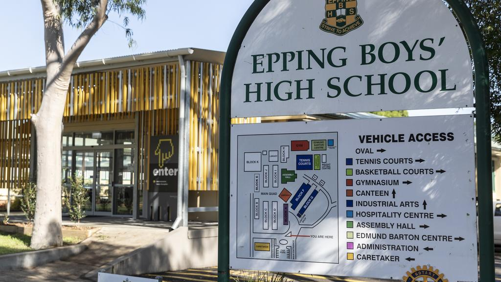 NSW Health confirmed Epping Boys Highschool was closed on Friday. Picture: Brook Mitchell/Getty Images