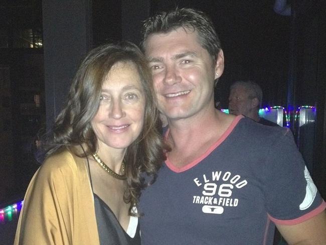 Karen Ristevski and her brother Stephen Williams. Picture: Facebook.