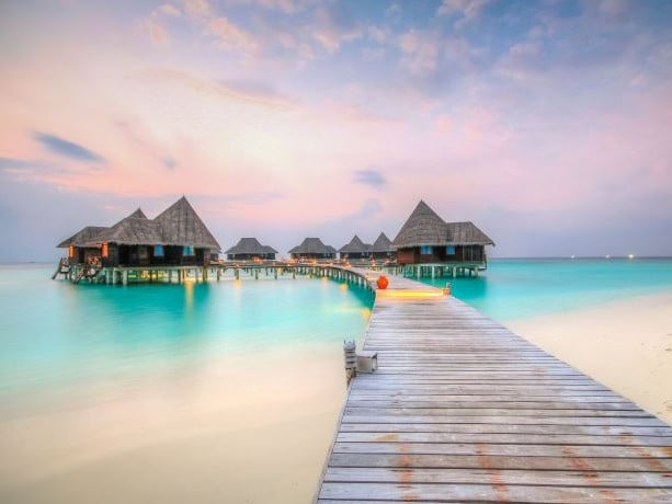 This stunning five-star resort in the Maldives is looking for someone to help save local sea turtles. Picture: Coco Palm Dhuni Kolhu