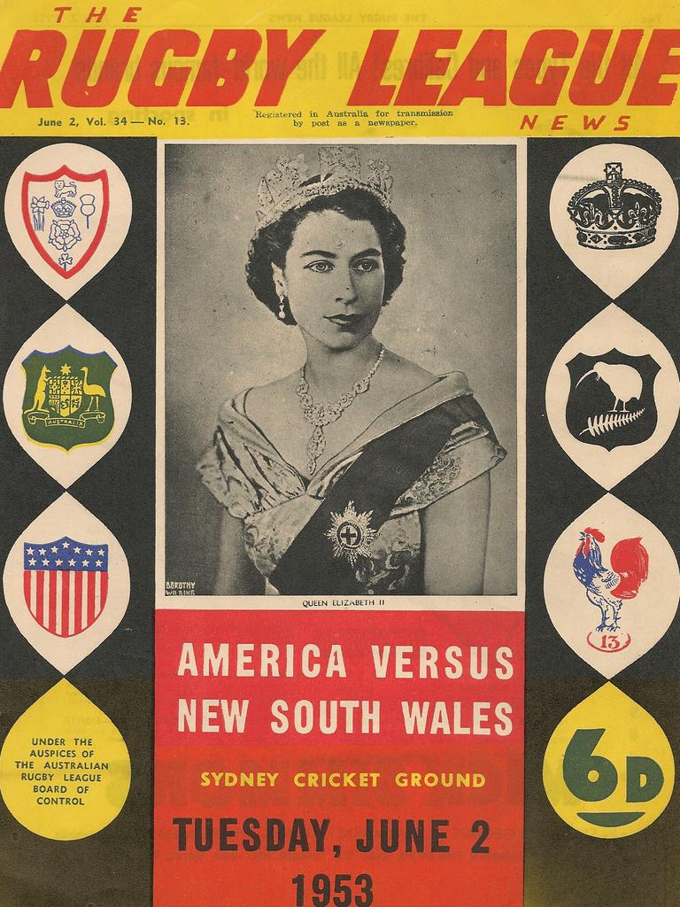 The Rugby League news cover advertising the game