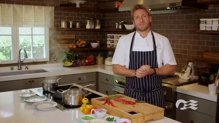Celebrity Chef Curtis Stone partners with Princess Cruises