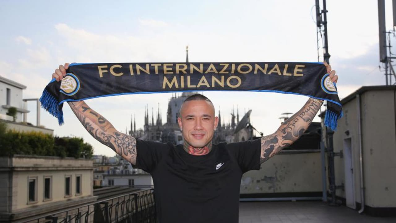 Nainggolan was wanted by Man Utd and Chelsea before leaving Roma for Inter Milan