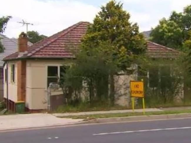 The house which was supposed to be demolished but is still standing. Picture: A Current Affair/9