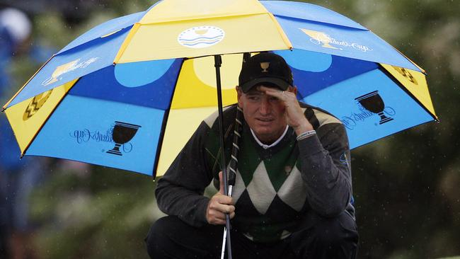 Ernie Els was part of the International team that lost to the USA in 2011.