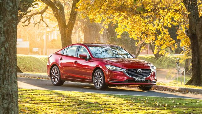 The Mazda6 borders on luxury car quality.
