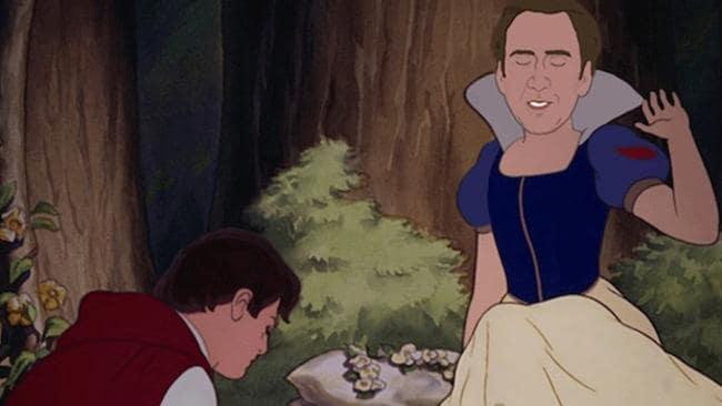 ... as Snow White. Picture: Jennifer Ann Lewis